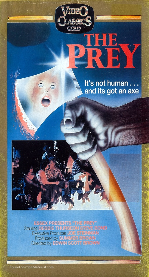 The Prey VHS Cover